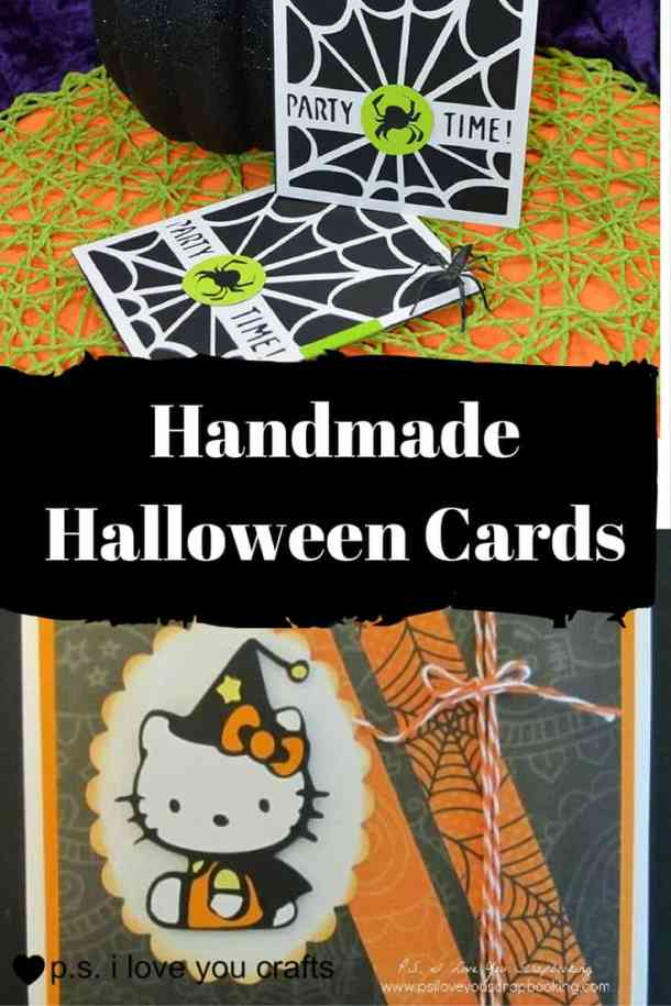 These handmade Halloween Cards, Invitations, and Treat Bags use a variety of materials from buttons to the Cricut. With just a few supplies, you can create fun Halloween paper crafting projects too.