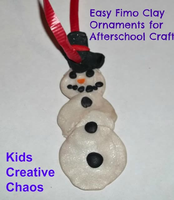 Fimo Clay Snowman - Handmade Christmas Ornaments are so much to create during the holiday season. Here are 65+ Homemade Christmas Ornaments for Kids and Adults. They are broken down into felt ornaments, Christmas balls, country and rustic Christmas ornaments, and Christmas ornaments that kids can make.