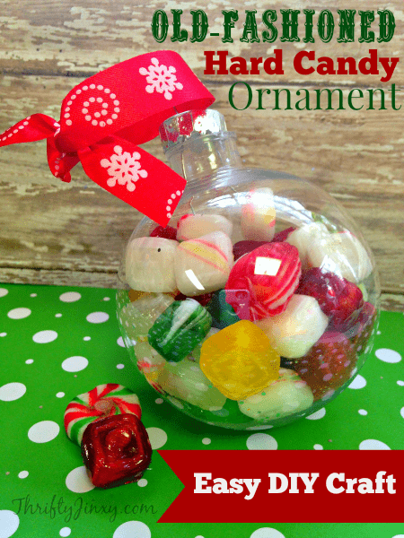 Old Fashioned Hard Candy Ball - Handmade Christmas Ornaments are so much to create during the holiday season. Here are 65+ Homemade Christmas Ornaments for Kids and Adults. They are broken down into felt ornaments, Christmas balls, country and rustic Christmas ornaments, and Christmas ornaments that kids can make.