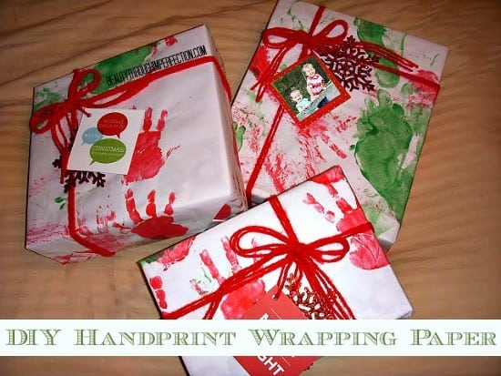 DIY Wrapping Paper for Kids to Make - Here are more than 30 Christmas Paper Crafts for you to try this season. There are handmade Christmas Cards, decorations, Christmas ornaments, Gift wrapping ideas, gift tags, and printable Christmas decor. So many great ideas!