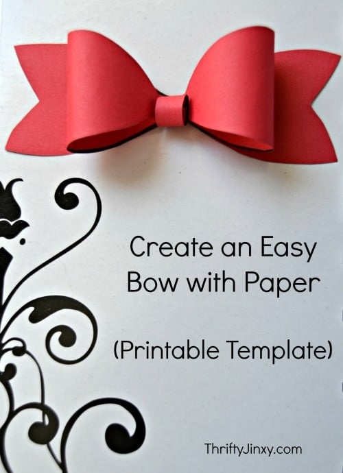Make a Paper Bow - Valentine's Day Paper Crafts are fun and easy. If you're a card maker or scrapbooker, you probably have all the supplies you need to get started with these paper crafting projects. There are clever handmade cards with secret messages, Valentine's Day Games for the kids, and home decor. I need to try some of these!