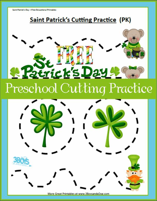 St-Patty-Preschool-Cutting-Practice1
