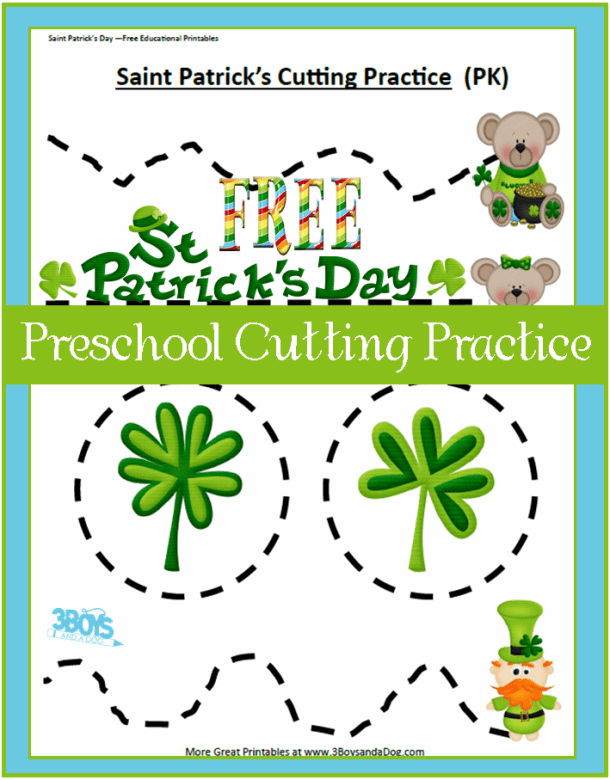 St-Patty-Preschool-Cutting-Practice1