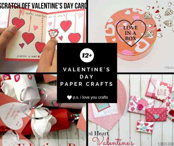 Valentine's Day Paper Crafts are fun and easy. If you're a card maker or scrapbooker, you probably have all the supplies you need to get started with these paper crafting projects. There are clever handmade cards with secret messages, Valentine's Day Games for the kids, and home decor. I need to try some of these!