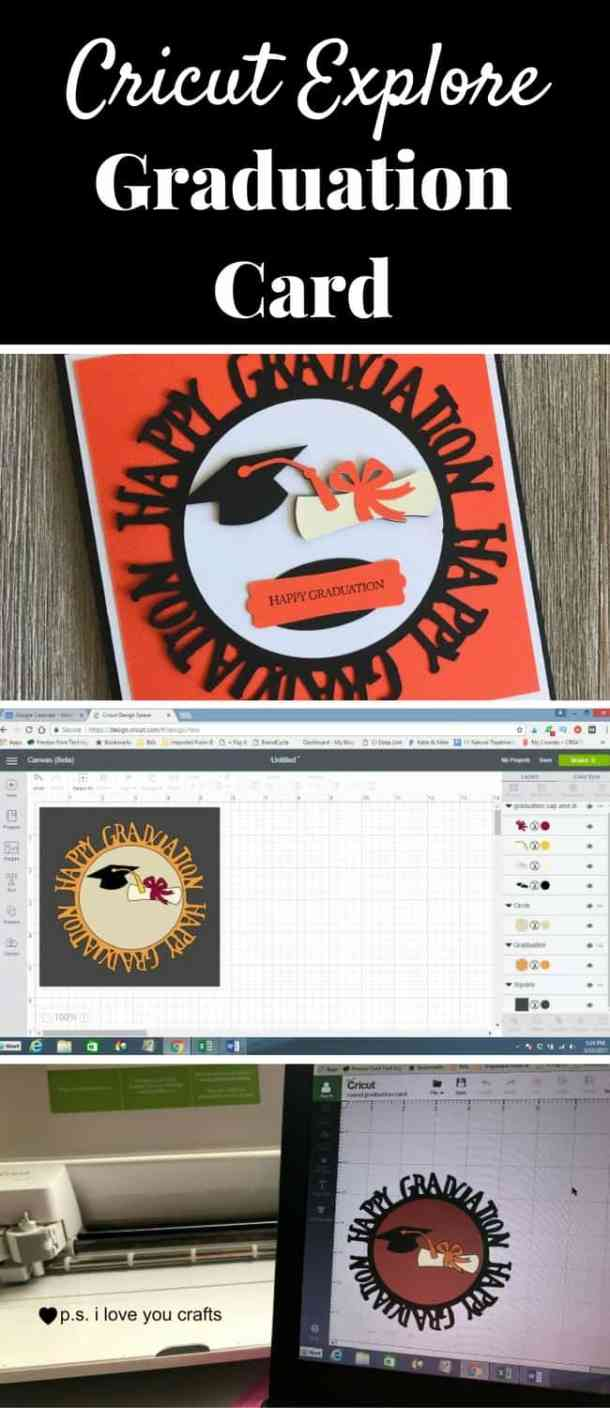 Make a fantastic graduation card using the Cricut Explore. I will show you step by step how I used the new Cricut Design Space Beta version to make this great card.