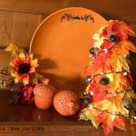 Easy Fall Table Decoration