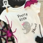 Baby Halloween Shirt With the Cricut Explore