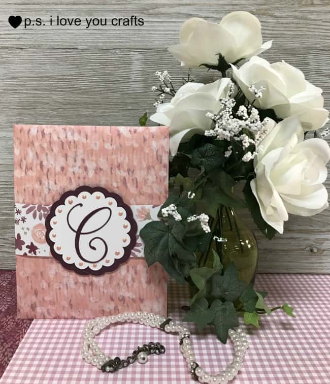 Cricut Wedding Invitation or Card PS I Love You Crafts