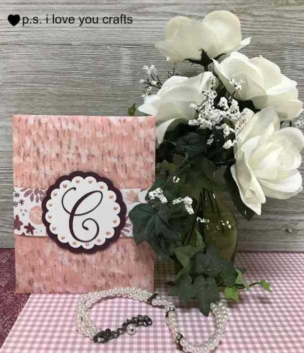 Make a stunning Cricut Wedding Invitation or Card using the Cricut Explore or the Cricut Maker and the Simple Everyday Cards Cricut Cartridge. I added other elements to make this elegant wedding card.