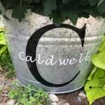 DIY Personalized Buckets with the Cricut Explore