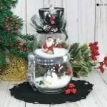 Dollar Tree Snow Globe Decoration