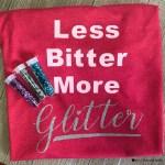Glitter Heat Transfer Vinyl Shirt