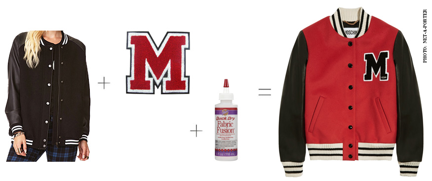 Moschino Varsity Jacket