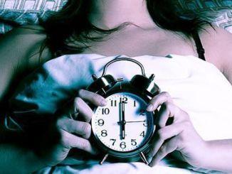 reloj en el insomnio
