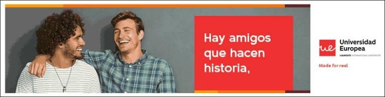 Elige el Máster que quieres regalar. 12 historias, 12 másters, 12 becas del 100% en la Universidad Europea de Madrid.
