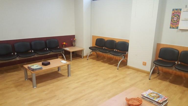 Sala de espera del edificio – Planta Baja