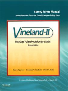 Portada de la Escala Vineland II