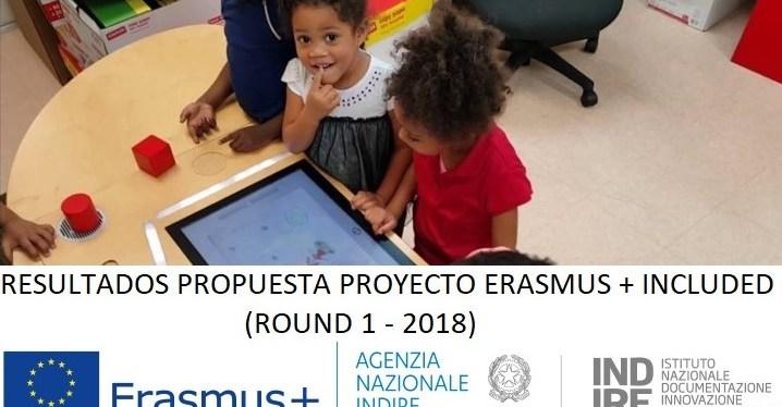 Resultados INCLUDED Erasmus+ 2018