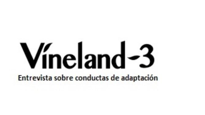 Evaluación con VINELAND-3