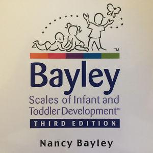 Evaluación con las Escalas de Desarrollo Bayley-3