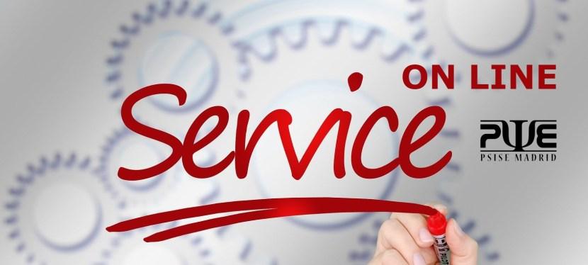 Servicios on line de PSISE
