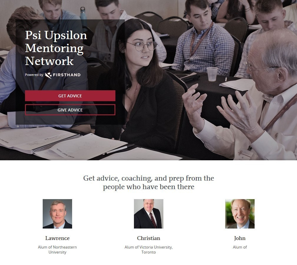 Help our mentor network grow!