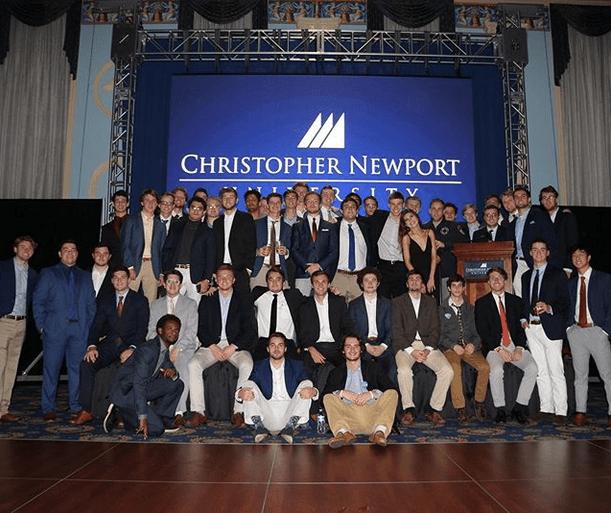 Phi Nu Chapter hosts Garnet Ball at Christopher Newport University