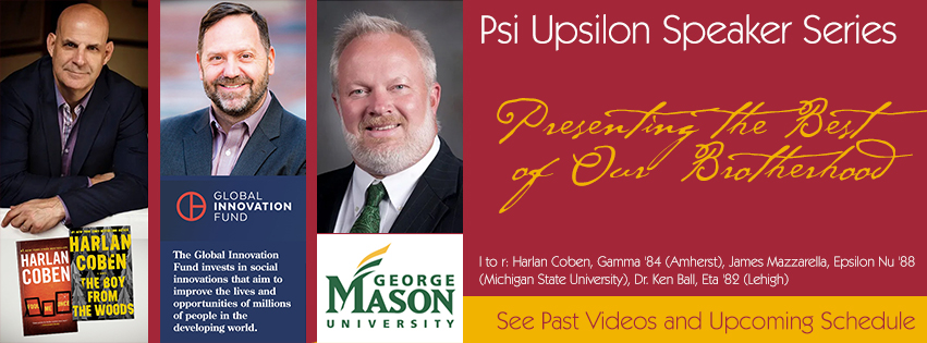 See past videos and register for upcoming speaker series events
