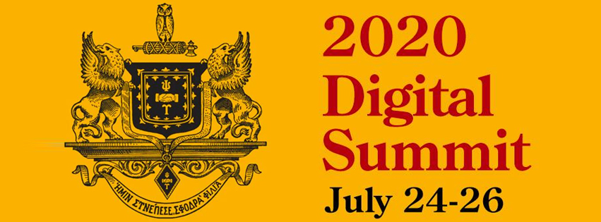 Psi Upsilon 2020 Digital Summit Slider