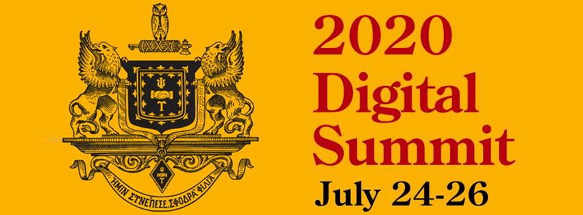 Psi Upsilon 2020 Digital Summit Slider