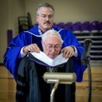 Omicron Alumnus Receives Doctorate of Humane Letters – at age 97!