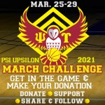 March 25-29 – 2021 March Challenge