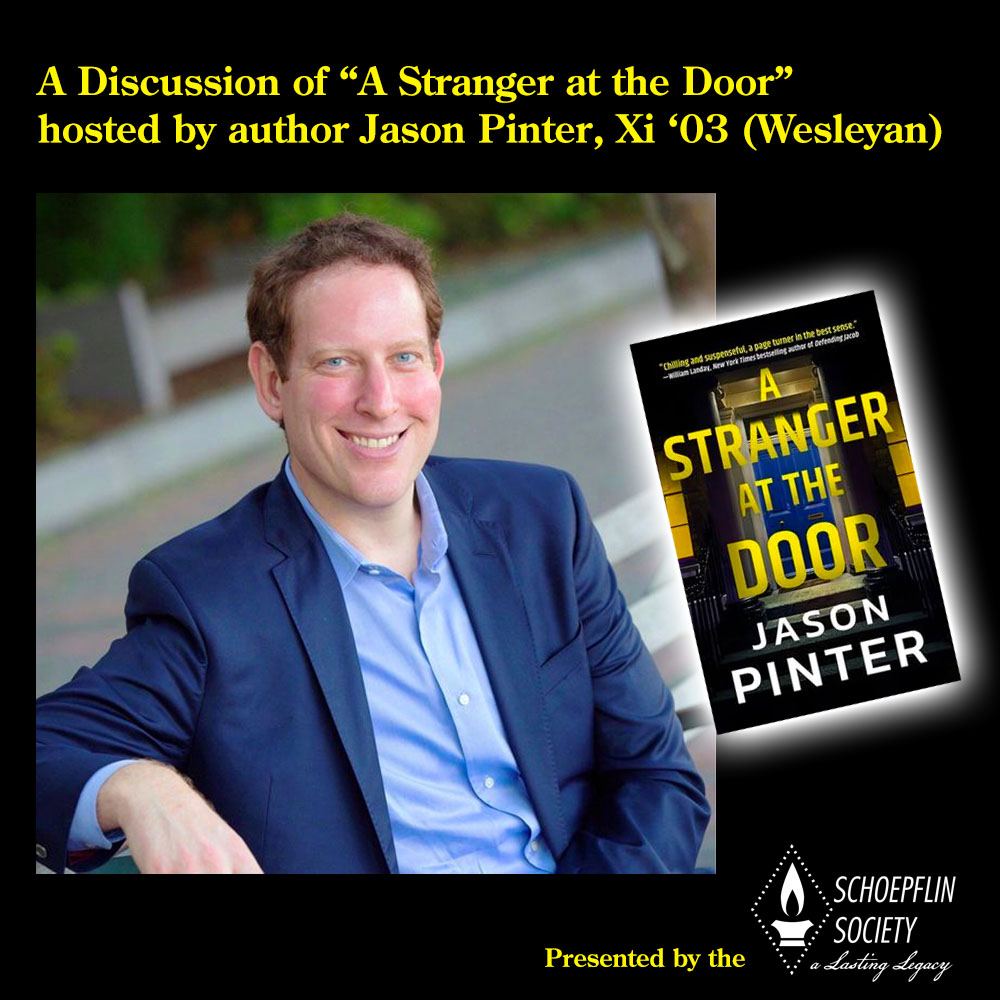 2021 Schoepflin Society Book Discussion