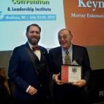 Murray L. Eskenzai, Lambda '56  Awarded the David A.B. Brown, ΕΦ '66 Distinguished Alumnus Award