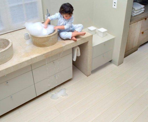 Порожек для плитки и ламината: как правильно положить его ...