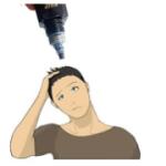 リアップは髪太くする?