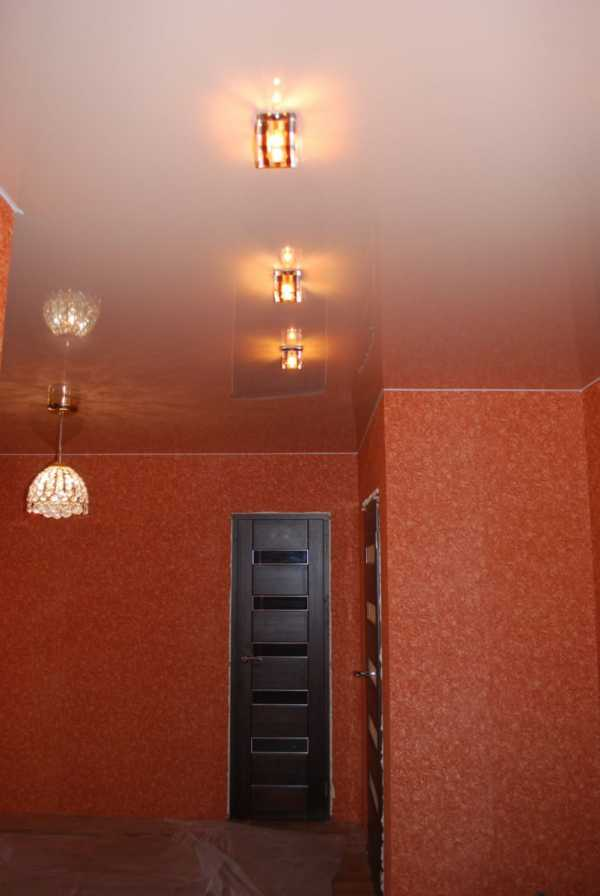 Фото в прихожей подвесные потолки