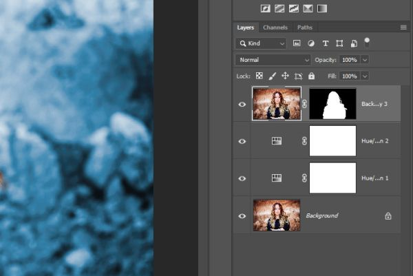 Как изменить цвет фона фотографии