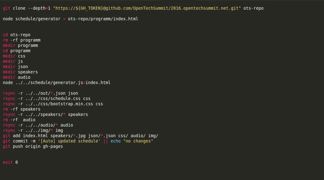 build file