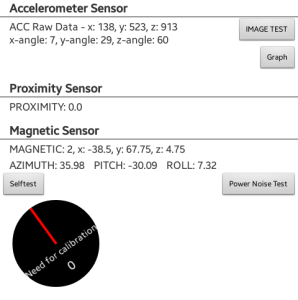 Integrating Stock Sensors with PSLab Android App