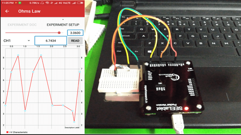 Performing the Experiments Using the PSLab Android App
