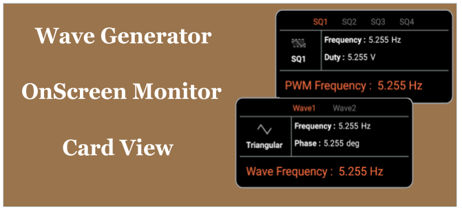 Creating the onScreen Monitor Using CardView