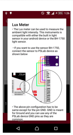 android – Pocket Science Lab
