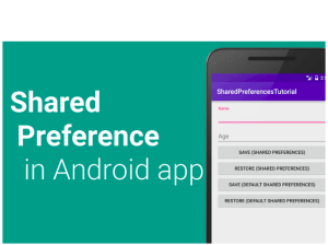 Working with Shared Preferences in PSLab App