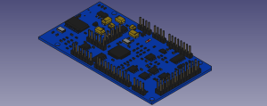 Creating step designs from KiCAD for PSLab