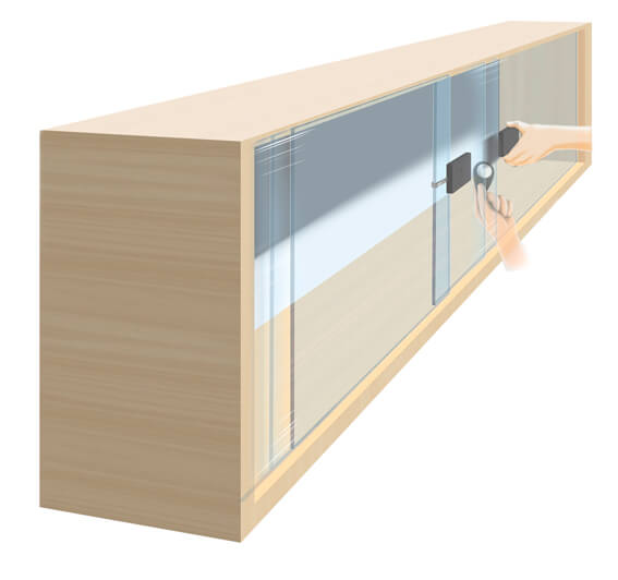 lock for sliding glass and wood doors