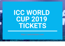 icc world cup 2019 tickets with price