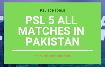 psl 5 updates by psl schedule