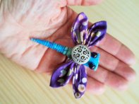 Dragonfly Brooch - 3""
