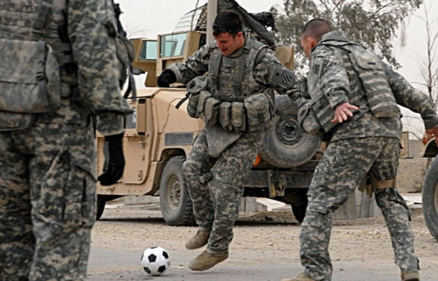 How the U S  Military Shaped American Soccer   Pacific Standard  Photo  The U S  Army Flickr